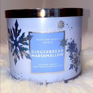 Gingerbread Marshmallow Candle